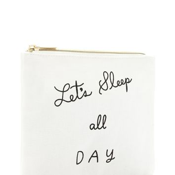 Lets Sleep All Day Makeup Pouch