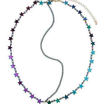 Blackheart Anodized Star Head Chain