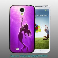 The Little Mermaid  Purple  - design for Samsung Galaxy S4 Black case