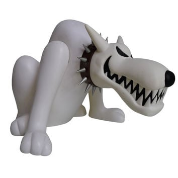 "Bounty Hunter BxH Wrang Chang Dog White Ver 7"" Vinyl Figure"