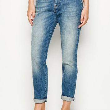 MANDERSTON TAPERED GIRLFRIEND JEAN