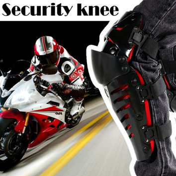 2016 Motorcycle Riding Knee Pads Outdoor Sports Protective Gear Motocross Off-Road Racing Knee Protector Guard Shin Pads