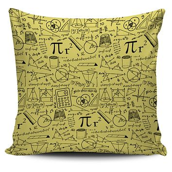 Mathematics Pillow Cover