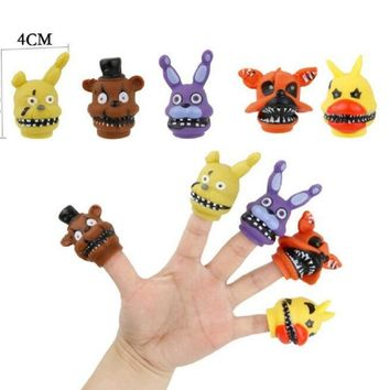 Mini Nendoroid figure PVC  At Foxy Chica Anime Model Hand Puppets Gifts Parent-child Entertainmen Toys