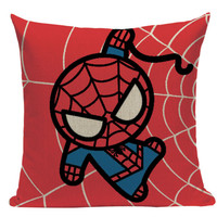 Spiderman Cartoon Pillow SH6