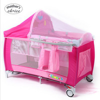 Mother's Choice Folding Portable Multi-Function Baby Crib