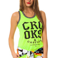 The Athletica Basketball Jersey in Neon Yellow