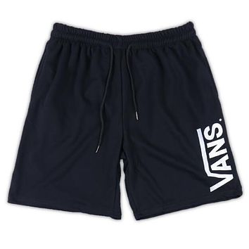 Vans Trending Women Men Loose Sports Running Shorts Grey I12689-1