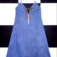 SWEET LORD O'MIGHTY! THE XTINA DRESS IN DENIM