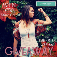 Lucia Flores Diary: THE BOHEMIAN DREAM GIVEAWAY