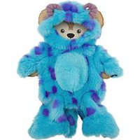 Disney 17 in Duffy Bear Sulley From Monsters Inc. Clothes Mickey Mouse NEW