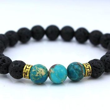 Natural Earth Stone Bracelet