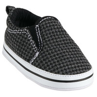 Carter's Soft-Sole Houndstooth Slip-on Sneakers