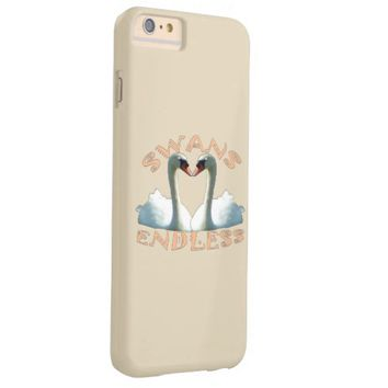 Mute Swans Endless Barely There iPhone 6 Plus Case