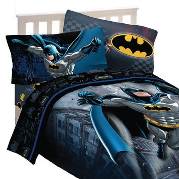 Batman Bedding Set Guardian Speed Comforter and Sheets