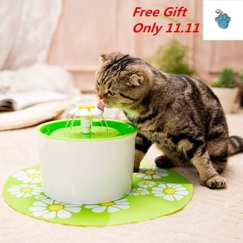Automatic 1.6L Bowl for Cat Water Fountain Drinking Water Dispenser Drink Filter 3 Layer Filtration System Mute Water Feeder