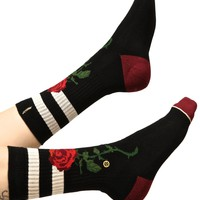 The Rose Classic Crew Socks