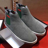 Boys & Men Gucci Fashion Casual Flats Shoes Boots Shoes