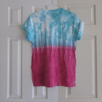 Dip Dyed Unisex Customizable Tee Shirt