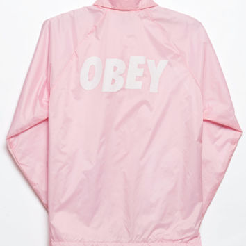 OBEY Jumble Coach Jacket at PacSun.com