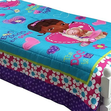 Doc McStuffins Twin-Full Comforter Disney Doctor No More Boo Boos Bedding