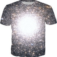 Tight Star Cluster | Universe Galaxy Nebula Star Clothes | Rave & Festival Shirt