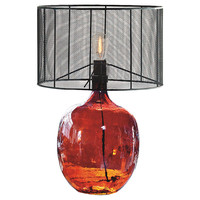 Regina-Andrew Design, Studio Glass Table Lamp, Red, Table Lamps