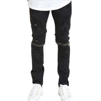 CRYSP Andre Pants In Black