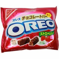 Nabisco Oreo Mini Bar Strawberry Chocolate