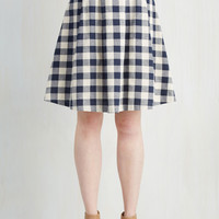 Good Golly Miss Jolly Skirt in Navy | Mod Retro Vintage Skirts | ModCloth.com