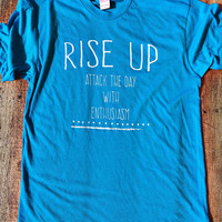 RISE UP - American Apparel Tshirt