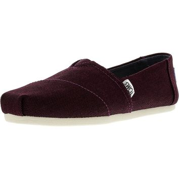Toms Women's Classic Poly Canvas Ankle-High Slip-On Shoes