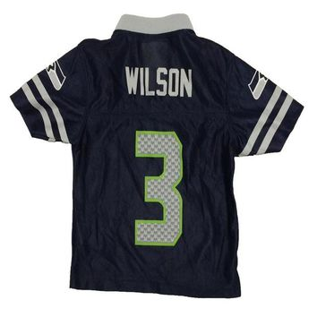 DCCK8X2 Seattle Seahawks Russell Wilson NFL Team Apparel Child Replica Football Jersey