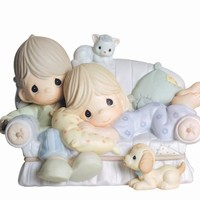 "Precious Moments ""Together is The Nicest Place To Be""  Figurine"