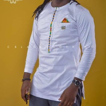 African Clothing, Men Top and Down, African Print, African men shirt /African clothing/African men clothing/African men shirt