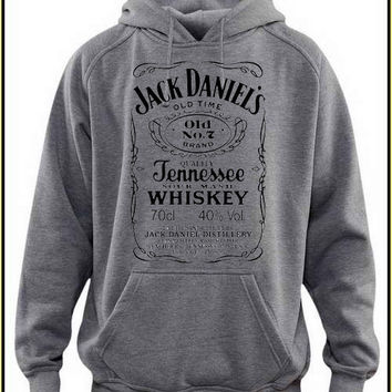 jeck daniels whiskey custom crewneck hoodie for unisex