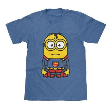 Superman Minions Shirt Available in Adult & Youth Sizes