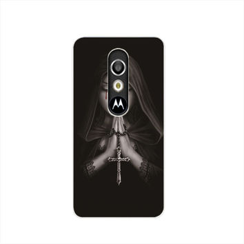 Gothic Prayer cell phone case cover for For Motorola Moto G3 G4 X+1 PLAY PLUS ONE style