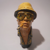 PIPE -Fear and Loathing in Las Vegas-ceramic handmade smoking pipe