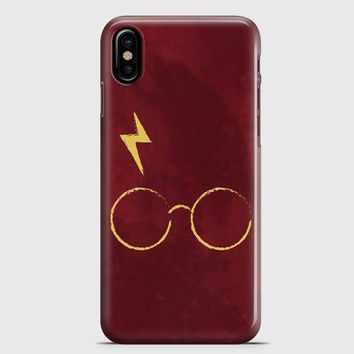 Harry Potter Face Illustration iPhone X Case | casescraft