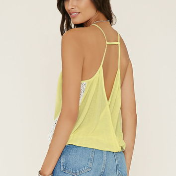 Lace-Paneled Cami | Forever 21 - 2000203406