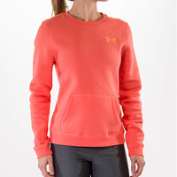 Women's Under Armour Essential Cotton Crew Sweatshirt