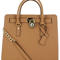 Michael Kors Large Hamilton Saffiano Tote Women's Purse - One Size /