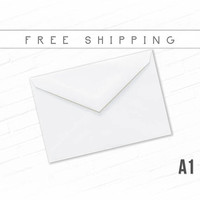 White RSVP Envelopes High Quality Envelopes A1 Size Smooth White Bulk Envelopes Invitation Thank You Note Announcement Photo Free Shipping