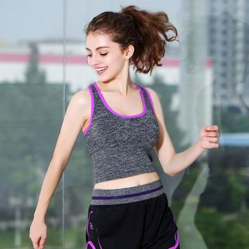 ac PEAPON Sports Vest With Steel Wire Gym Jogging Yoga Sports Bra [10153539020]