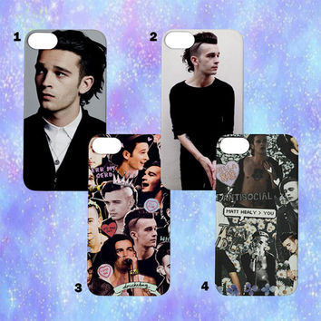 Matt Healy The 1975 iPhone Cases | iPhone 4/5/6 | Tumblr Cute Cool Kawaii Music Band Collage One Direction Arctic Monkeys Clothing *ON SALE*