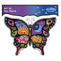 Celestial Butterfly Window Sticker on Sale for $2.99 at HippieShop.com
