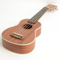 "21"" Sapele Soprano Ukulele Wood Color"
