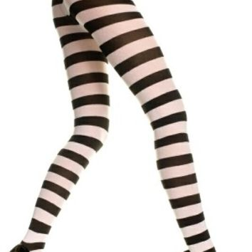 Wild Wide Stripes Hot Black and White