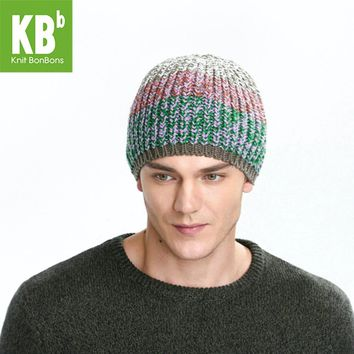 2017 KBB Spring    Comfy Cable Red Green Croquet Twist Design Yarn Knit Delicate Women Men Winter Hat Beanie Thicken Cap
